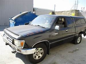 1995 Toyota T100 Sr5 Black Xtra Cab 3 4l At 2wd Z16397