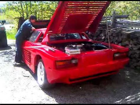 ferrari testarossa replica  modified fiero