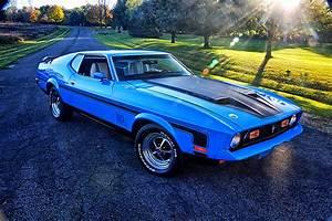 002 Scott Skalitzky 1971 Ford Mustang Mach 1 Cobra Jet - Photo 162015849 - This Grabber Blue ...
