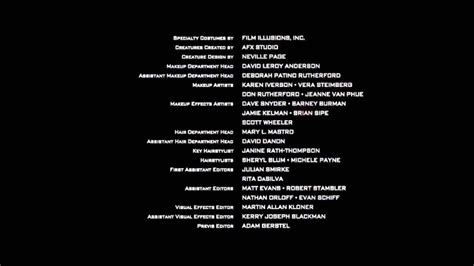 film credits who s who in credits what do all those do anyway