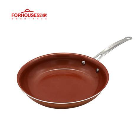 stick copper frying pan ceramic coating aluminum pots baking cooking cake pans