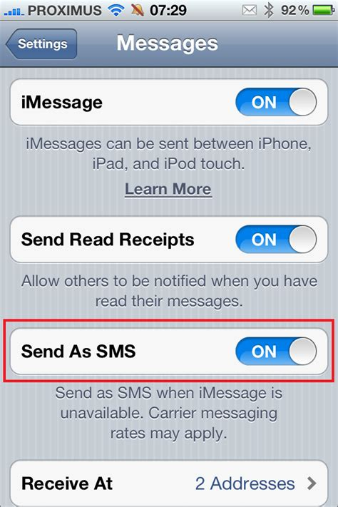 iphone wont send imessage imessage sms message doesn t state it has been sent