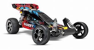 Voiture Rc Electrique : voiture rc electrique traxxas bandit rock n 39 roll 4x2 ~ Melissatoandfro.com Idées de Décoration
