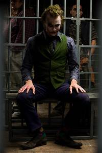 Joker, The, Dark, Knight, Heath, Ledger, Wallpapers, Hd