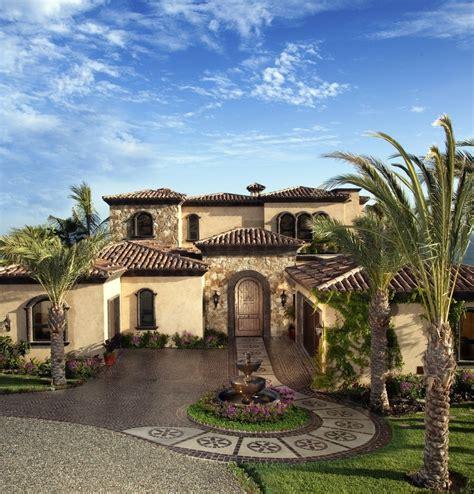 Colors Spanish Revival Mediterranean House Plans Colonial