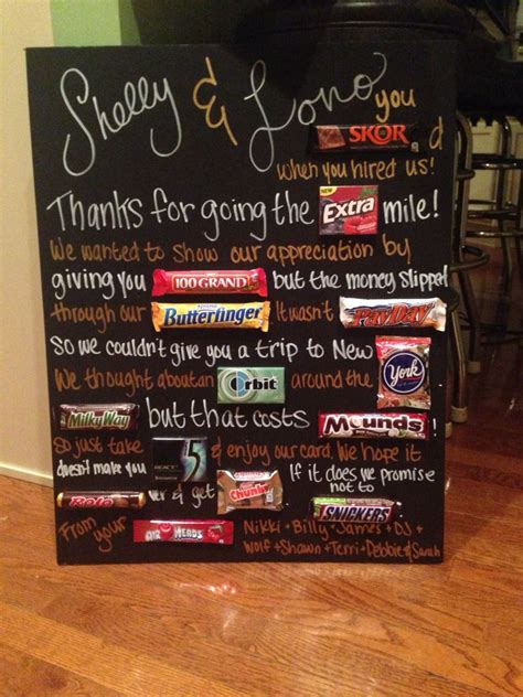 bosses day candy poemposter candy grams pinterest