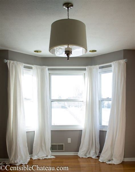 bay window drapery best 25 bay window curtains ideas on curtains