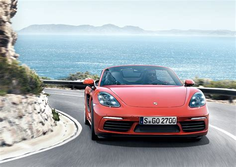 Porsche 4 Cylinder by Porsche Ag The New Mid Engine Roadster With Four Cylinder
