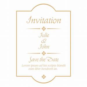 wedding invitation templates png yaseen for With wedding invitations template png