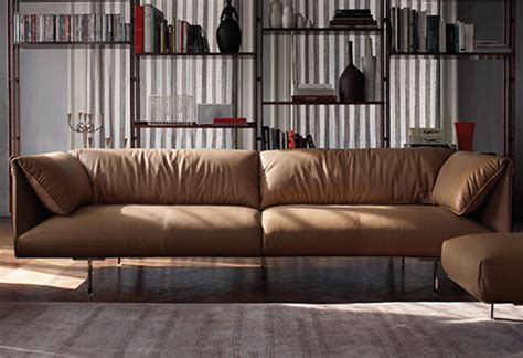 Poltrona Frau Leather : Trendy Leather Sofa By Poltrona Frau