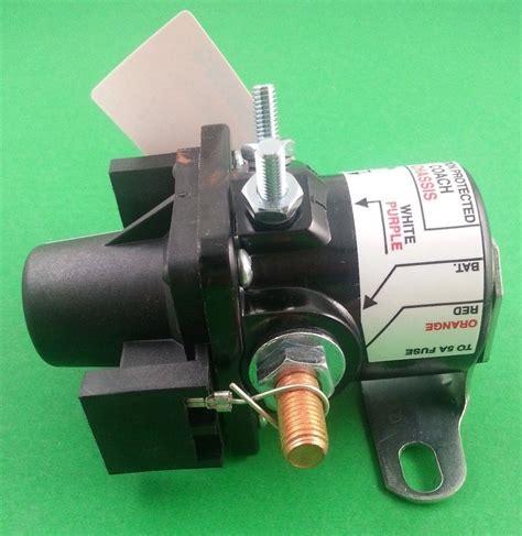 intellitec 01 00055 000 rv motorhome battery disconnect solenoid relay mpv 705353706578 ebay