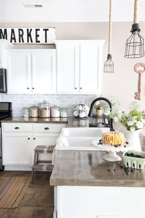 inexpensive backsplash ideas for kitchen diy whitewashed faux brick backsplash bless 39 er house