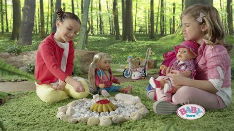 zapf babyborn playfun camping set  ger youtube