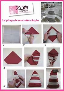 Pliage De Serviette Pour Noel Facile : trois pliages de serviettes faciles pour vos tables de ~ Dode.kayakingforconservation.com Idées de Décoration