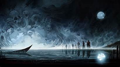 Fantasy Dark Wallpapers Nature Resolution Laptop Cool