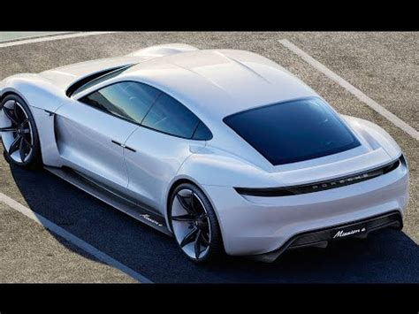 Electric Cars 2017 by New Porsche Electric Car Porsche Mission E 2017