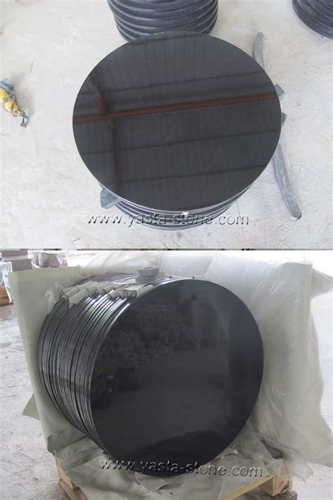 30 inches absolute black granite table tops shanxi
