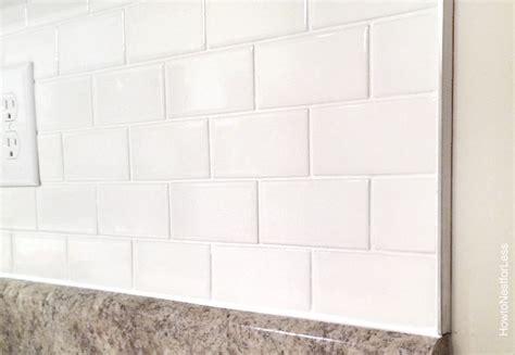 kitchen backsplash edges how to install a kitchen backsplash the best and easiest 2210