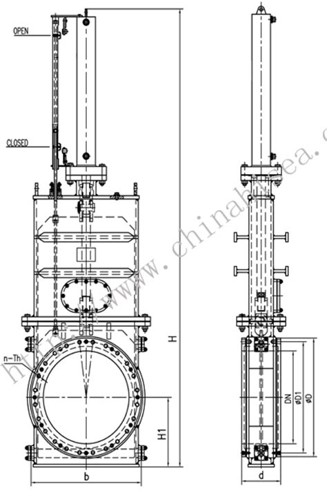 Hydraulically Dredge Gate Valve,Hydraulically Dredge Gate