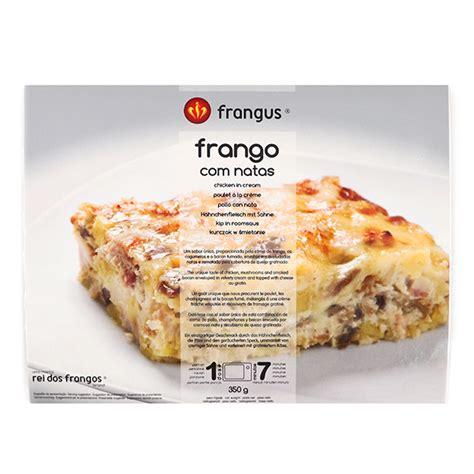De rei dos frangos ist die neue marke auf dem markt für fertiggerichte. Frozen Rei Dos Frangos Chicken in Cream 350g - Portugal ...