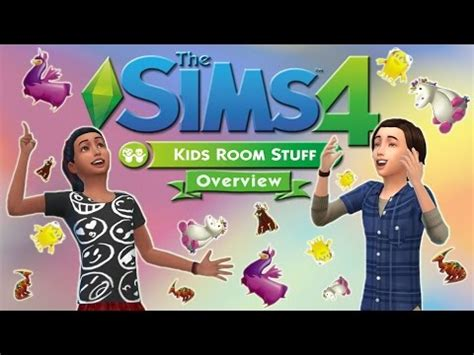 The Sims 4 Kids Room Stuff  Overview + Review + Gameplay