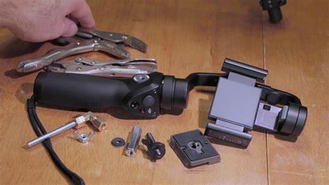 dji osmo mobile diy tripod mount youtube