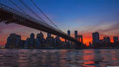 4k York Wallpapers Desktop Brooklyn Bridge