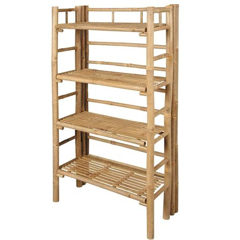 étagère Salle De Bain Bambou  Salle De Bain  Idées De
