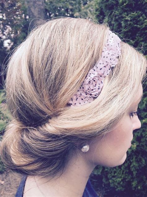 Gorgeous and simple gLamour'do hairstyle http://www