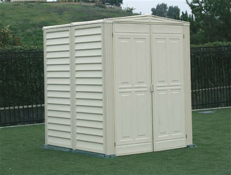 Storage Shed Floor by Duramax Sheds 5x5 Yardmate Vinyl Outdoor Storage Shed Kit