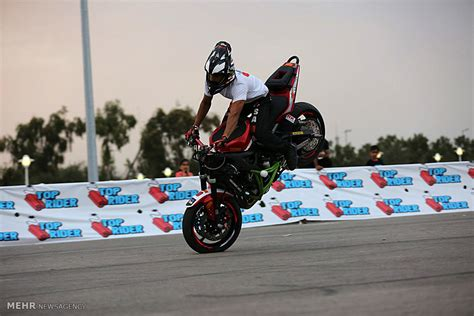 Motorcycle Stunt Riding