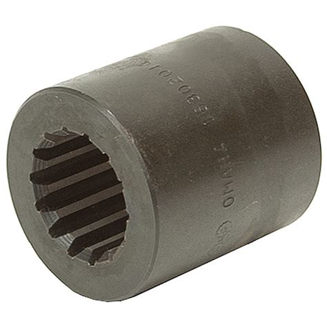 splined coupling  piece solid couplers shaft couplers power