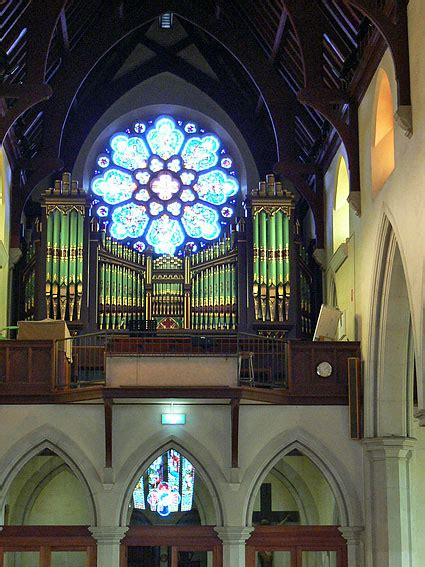 st hobart cathedral mary catholic tasmania marys organ pipe cnr jrm ohta
