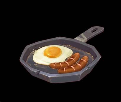 Gifs Frying Pan Bacon Egg Eggs Breakfast