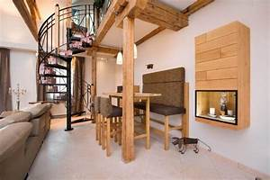 Haus Mit Galerie Im Wohnzimmer : tischlerei walter sch ner wohnen wohnbereich efh 01 ~ Orissabook.com Haus und Dekorationen
