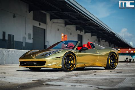golden ferrari wallpaper black and gold ferrari 15 widescreen wallpaper