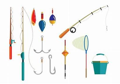 Fishing Equipment Vectors Vector Objects Svg Clipart