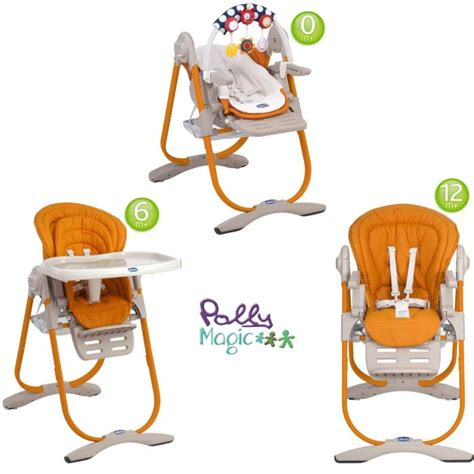 chaise chicco 3 en 1 chicco chaise haute 3 en 1 polly magic mandarino mandarino