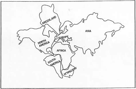 simple pangea transformation coloring sheets map