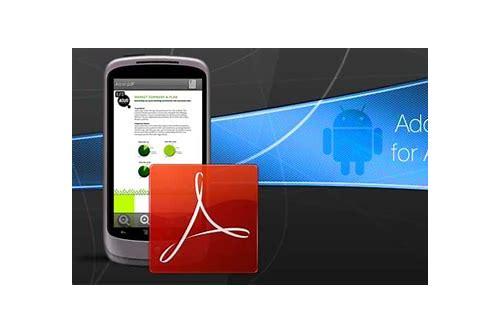 free adobe pdf reader baixar para android phone
