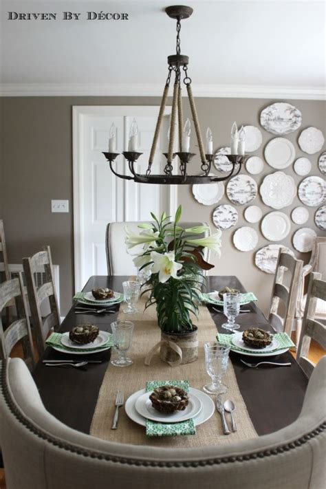 how to decorate your kitchen table simple natural easter table decorations driven by decor