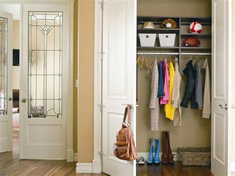 closet door options ideas  concealing  storage
