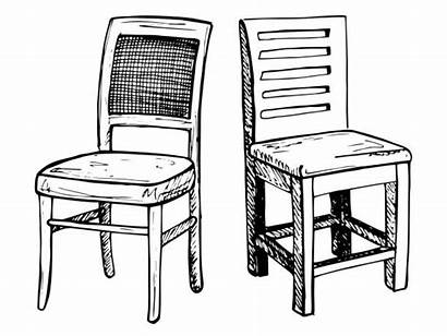Chair Wooden Chairs Clip Vector Illustrations Background