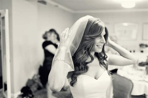 All Down Wedding Hair Loose Waves Sideswept Bangs