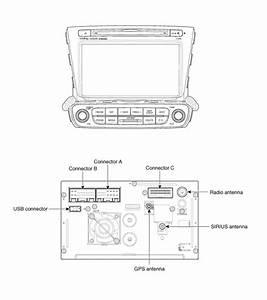 Kia Sorento  Avn Head Unit Components - Avn System