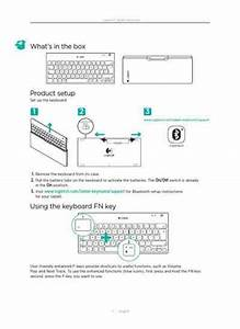 Logitech Tablet Keyboard For Ipad Pc Accessories Download
