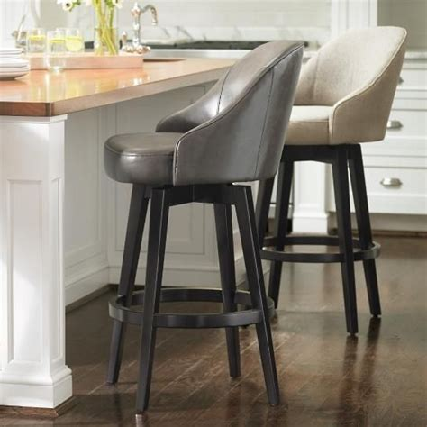 Isaac Swivel Chair Slipcover by 1000 Ideas About Swivel Bar Stools On Floor