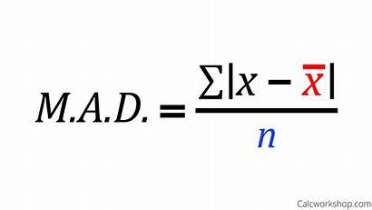 Deviation Absolute Mean Formula Mad Finding Examples