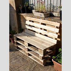 Diy Pallet Outdoor Sofa  Diy And Crafts