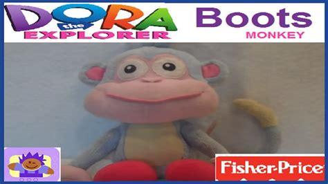 2001 Nick Jr. Dora The Explorer Talking Boots The Monkey